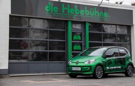 Car wrapping von Fahrzeugen in Celle